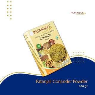 Patanjali Coriander Powder 100G -- By Dashmesh