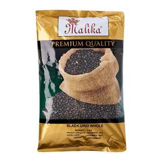Malika Black Urid Whole 1 Kg -- By Dashmesh