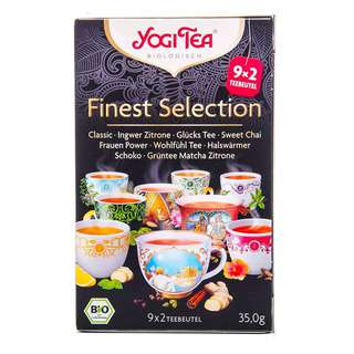 Yogi Organic Finest Selection - 18 Tea Bags - 17 Tea Bag,