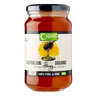 Absolute Organic Australian Raw Honey