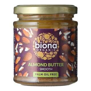 Biona Organic Almond Butter - Smooth