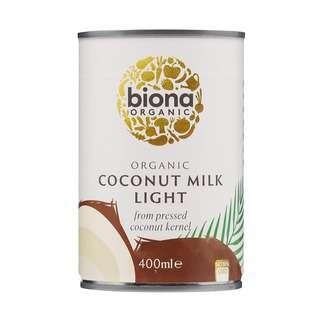 Biona Organic Coconut Milk - Light 9% fat