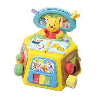 Tomy Disney Pooh Finger Play Box with Picture Book