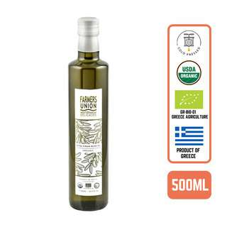 Farmers Union Organic Extra Virgin Olive Oil - Cold Pressed -By Foodsterr