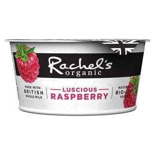 Rachel's Organic Luscious Raspberry Bio-Live Yogurt