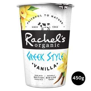 Rachel's Organic Greek Style Bio-Live Yogurt with Vanilla