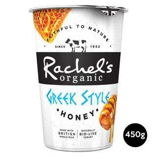 Rachel's Organic Greek Style Honey Bio-Live Yoghurt