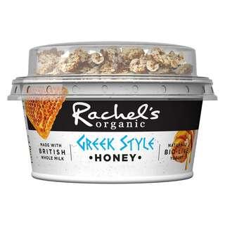 Rachel's Organic Greek Style Honey Bio-Live Yoghurt & Granola Pot