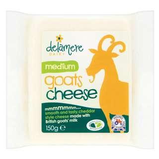 Delamere Dairy Medium Hard Goats Cheese