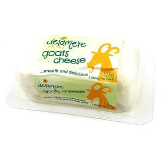 Delamere Dairy Natural Soft Goats Mini Log Cheese