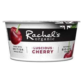 Rachel's Organic Forbidden Fruits Cherry Bio-Live Yoghurt