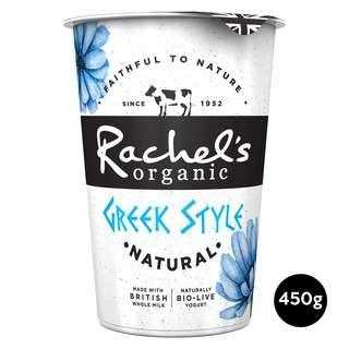 Rachel's Organic Greek Style Natural Stirred Bio-Live Yoghurt