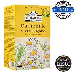 Ahmad TeaBag - Camomile & Lemongrass