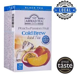 Ahmad TeaBag - Peach & Passion Fruit Cold Brew Iced Tea