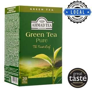 Ahmad TeaBag - Green Tea Pure