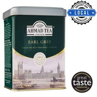Ahmad Loose Tea Caddy - Earl Grey