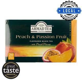 Ahmad TeaBag - Peach & Passion Fruit