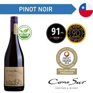 Cono Sur Organic Pinot Noir - Red Wine