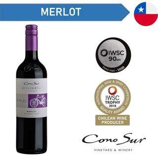 Cono Sur Bicicleta Reserva Merlot - Red Wine