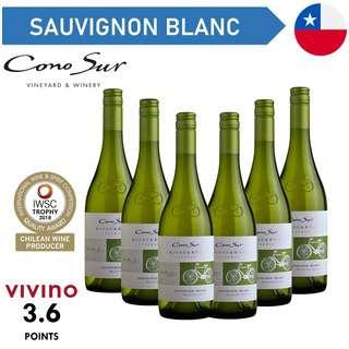 Cono Sur Bicicleta Reserva Sauvignon Blanc - White Wine - Cas