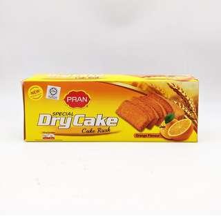 PRAN Dry Cake Cake Rusk Orange Flavor