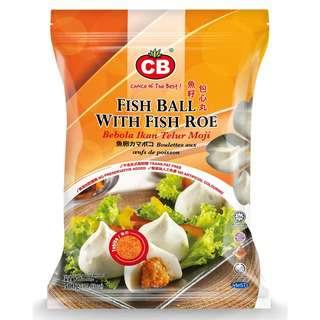 CB Fish Ball with Fish Roe 23pcs