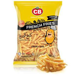 CB French Fries Crinkle Cut