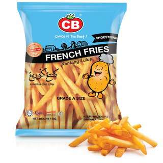CB French Fries Shoestring (Grade A)