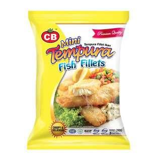CB Mini Tempura Fish Fillet 5pcs