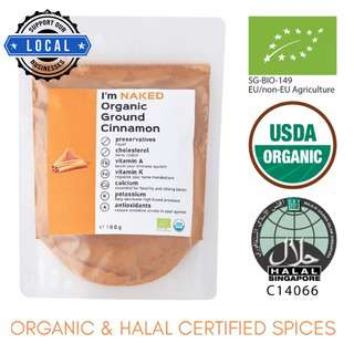NAKED Organic Fresh Ground Cinnamon