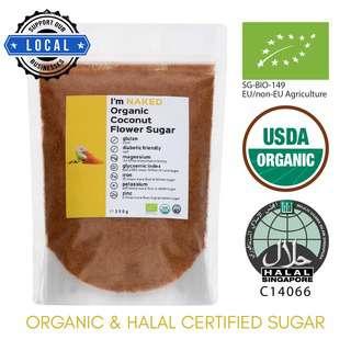 NAKED Organic Coconut Flower Sugar
