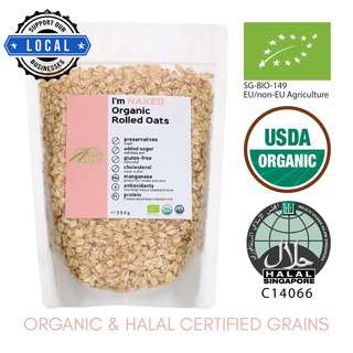 NAKED Organic Rolled Oats