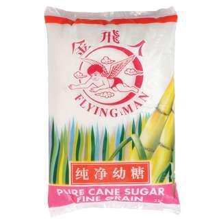 Flying Man Pure Cane Sugar - Coarse Grian ( Bundle Of 5 )