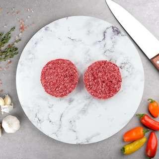 100 Days Grain Fed Beef Patties (Frozen)
