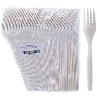 MTRADE Disposable 6.5 Inch Eco Biodegradable Forks