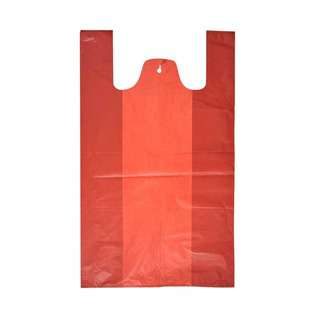 MTRADE Large Red Plastic Bag Value Pack