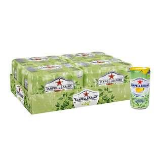 Sanpellegrino Limone + Tea Can Organic - By Culina