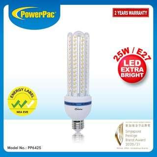 PowerPac 25W E27 Vertex LED Bulb Daylight PP6425