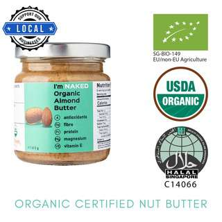 NAKED Organic Almond Butter