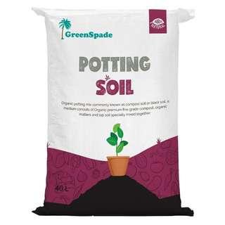 GreenSpade Potting Soil 40L