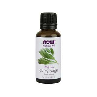 NOW FOODS ESSENTIAL OILS CLARY SAGE 30ML