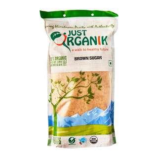 Just Organik Organic Sugar Brown Raw