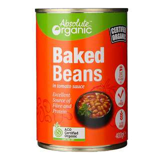 Absolute Organic Baked Beans 400g