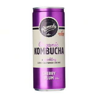 Remedy Organic Kombucha Cherry Plum
