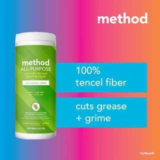 method all-purpose cleaning wipes - lime + sea salt