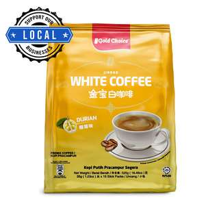 Gold Choice Instant White Coffee - Durian