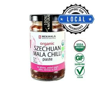 Mekhala Organic Szechuan Mala Chilli Paste