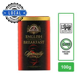 BASILUR ENGLISH BREAKFAST LOOSE LEAF TEA 100G