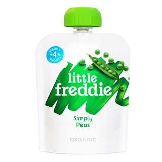 LITTLE FREDDIE SIMPLY PEAS 70G - BUNDLE OF 2