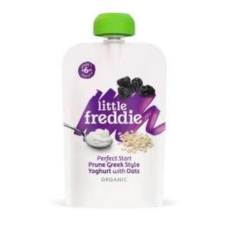 Little Freddie Prune Greek Style Yoghurt with Oats